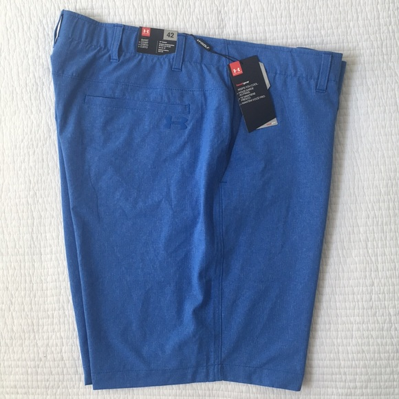 "5c0069f6ff2 Under Armour Heat Gear Golf Shorts 10"" inseam 42"